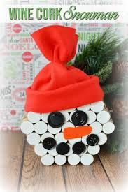 here for this easy diy snowman wine cork craft tutorial crafts