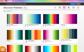 Sample Html Color Code Chart Best Color Palette Generators HTML Color Codes 22