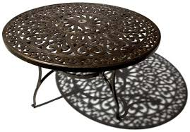 round outdoor coffee table. Coffee Table, Aluminum Outdoor Round Dining Table Wood  Table: Marvelous Round Outdoor Coffee Table