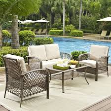outdoor patio wicker chairs. niceville 4 piece deep seating group with cushion outdoor patio wicker chairs