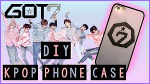 DIY GOT7 PHONE CASE DIY KPOP PHONE CASE