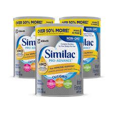 Buy Similac Pro Advance Non Gmo Infant Formula With Iron