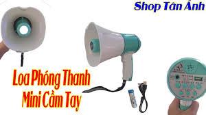Loa Phóng Thanh Mini Cầm Tay Bán Loa Phóng Thanh Không Dây - YouTube
