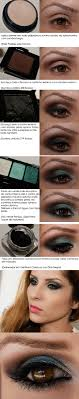 yes you can wear teal eye shadow with brown eyes