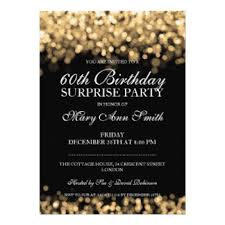 60th Birthday Party Invitations 60th Birthday Party Invitations With
