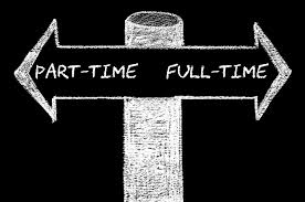 part-time of full-time