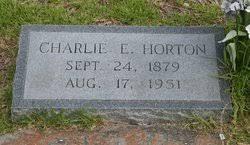 Charlie E. Horton (1879-1951) - Find A Grave Memorial
