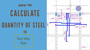 Two Way Continuous Slab Design How To Calculate Quantity Of Steel In A Two Way Slab Bbs Of Slab Reinforcement