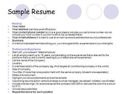 How To Write The Perfect Resume Ppt Download