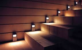 staircase lighting led. 5 easy and attractive diy outdoor steps lighting designs intended for step led staircase