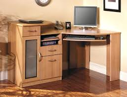 small office desk with drawers. Small Wooden Office Desk Computer 7 Drawer Wood Solid Writing With Hutch White Chair Drawers .