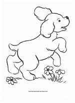 Show them some love with your artistic skills on these free printable dogs coloring pages. Dog Coloring Page