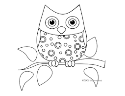 Printable Owl Coloring Pages Tasty Free Printable Owl Coloring Pages