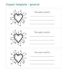 Voucher Book Template Coupon Book Template For Boyfriend Book Design