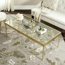 width ginkgo leaf coffee table