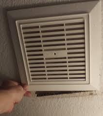 noisy or broken bathroom vent exhaust fan