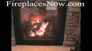 IHP 42 Inch Extruded Aluminum BiFold Glass Doors  BlackFmi Fireplaces
