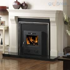the efficiency savings of swapping an open fire for a wood burning or inset stove