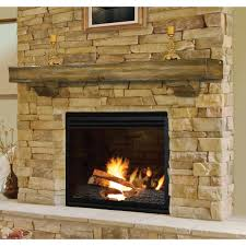 popular rustic fireplace mantels design