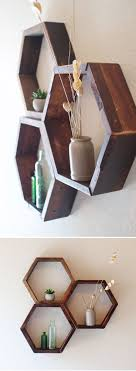 Small Picture Top 25 best Wall mounted wood shelves ideas on Pinterest