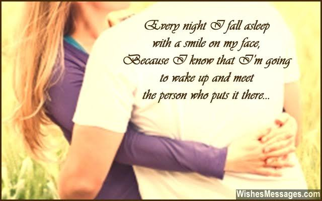 good night messages for lover
