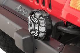 Jeep Tj Fog Light Bulb Replacement Kc Hilites Replacement Fog Light For 05 06 Jeep Wrangler Tj Unlimited Each