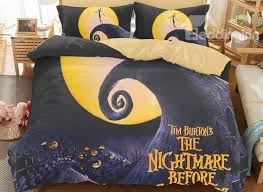 nightmare before duvet bedding set
