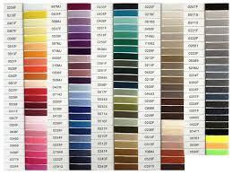 48 Conclusive Coats Astra Thread Color Chart