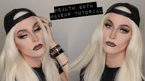 health goth inspired drag queen makeup tutorial