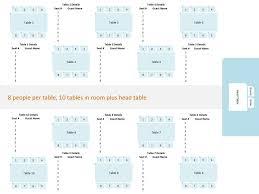 Dinner Table Seating Chart Template U2013 Peero Idea Eliterunning Us