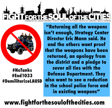 End The 1033 Program » Fight for the Soul of the Cities