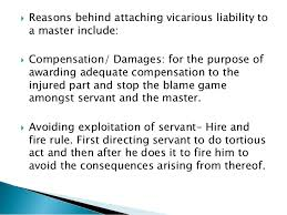vicarious liability 9  reasons behind attaching vicarious liability
