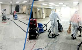 melbourne cbdchina bank floor tiles removed concrete floor grinded to remove remaining asbestos fibres