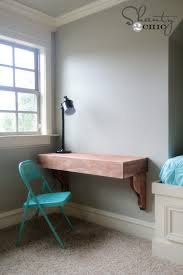 corbel desk diy