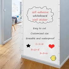 whiteboard wall sticker self adhesive