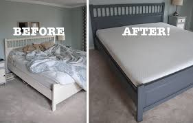 lull mattress review and painted ikea bed frame before and after thrift diving