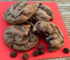 dark chocolate fudge cake mix cookie recipe from neverendingjourneys