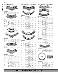 Autolite 4100 Cfm Chart 58 Decals Auto Krafters Manualzz Com
