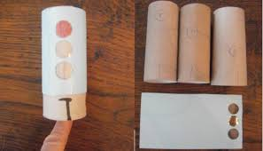 Fast Traffic Light Craft Out Of A Toilet Paper Roll This Works Best