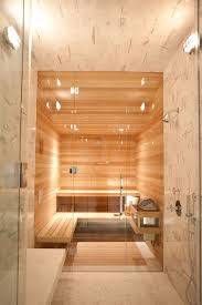 steam room vs sauna with contemporary bathroom also bathroom bench frameless shower door industrial sconce minimal