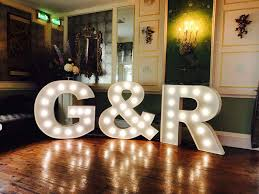 Giant Light Up Letters Light Up Letters In Dublin Irelands Top Supplier For Led