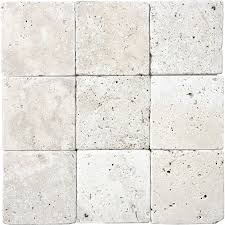 tumbled marble tile. 9-Pack Chiaro Tumbled Marble Natural Stone Wall Tile (Common: 4-in E