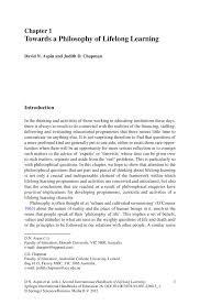 Second International Handbook Of Lifelong Learning Springer