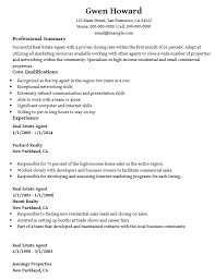 16 Free Sample Real Estate Agent Resumes Best Resumes 2018