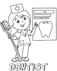 Harry potter coloring sheets for kids1. Printable Coloring Page Of Dentist Topcoloringpages Net