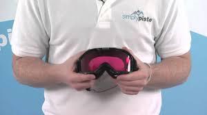 Bolle Mojo Goggle Shiny Black With Vermillion Gun Lens Www Simplypiste Com