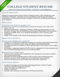 Marketing Intern Resume Internship Resume Samples Writing Guide