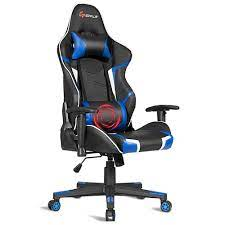 costway mage gaming chair reclining