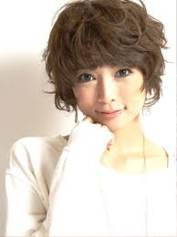 Korean Woman Short Hair Style curly short hairstyles for asian easy short korean curly 7786 by stevesalt.us
