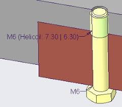 Helicoil Chart Pdf Helicoil Representation In 3d Model Page 2 Ptc Community